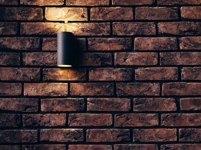 lampen aan de muur