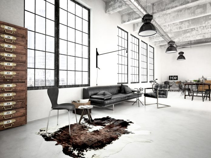 industriele stoelen loft